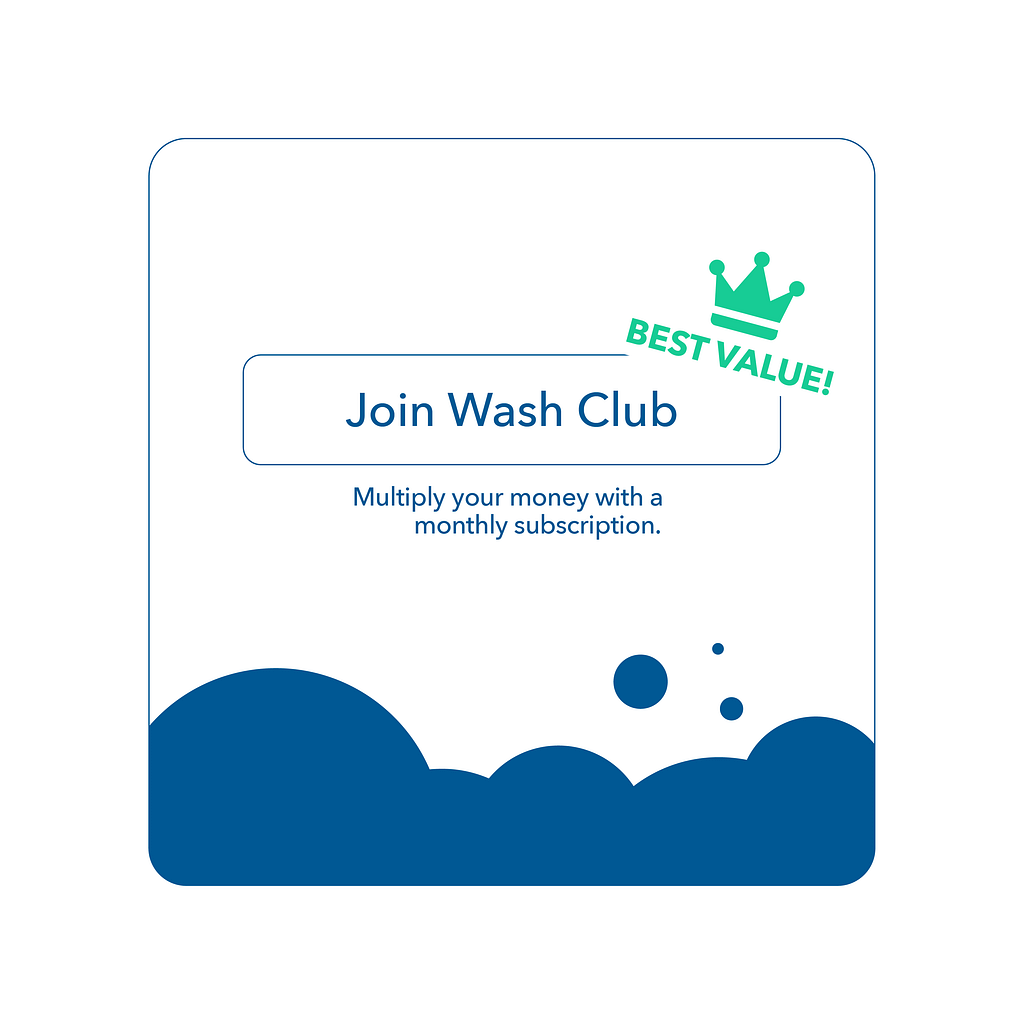 How Does Coinless's Wash Club Stand Out?